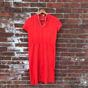 Burnt Sienna Jersey Knit Sundress